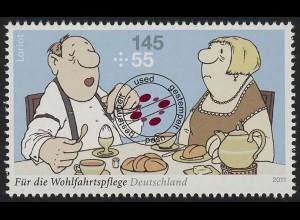 2839 Wofa Loriot Das Frühstücksei O