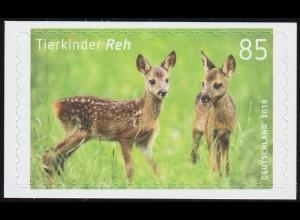 3377 Tierkinder: Reh (Rehkitz), selbstklebend auf neutraler Folie, **
