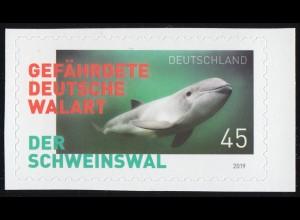 3437 Der Schweinswal, selbstklebend aus FB 84, **