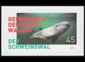 3437 Der Schweinswal, selbstklebend auf neutraler Folie, **