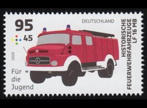 3558 Feuerwehrfahrzeug 95 Cent, ** postfrisch
