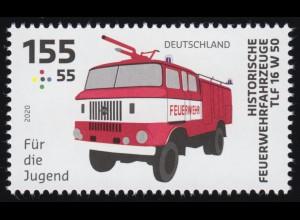 3559 Feuerwehrfahrzeug 155 Cent, ** postfrisch