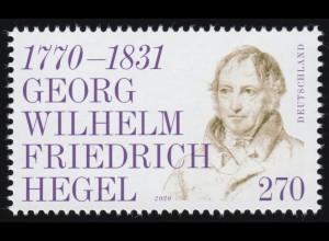 3560 Philosoph Georg Wilhelm Friedrich Hegel, ** postfrisch