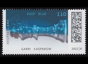 3595 Schach - Deep Blue schlägt Kasparow, ** postfrisch
