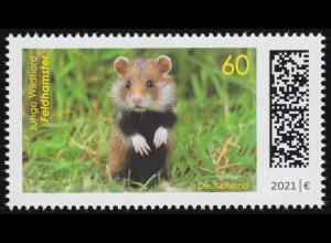 3608 Junge Wildtiere: Feldhamster, ** postfrisch