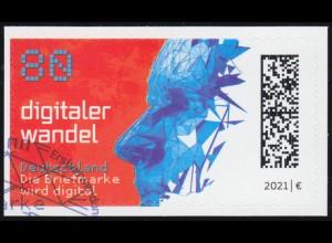 3592 Digitaler Wandel, selbstklebend auf neutraler Folie, EV-O Bonn