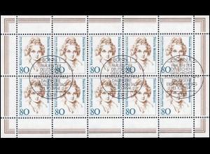 1755 Frauen 80 Pf Rahel Varnhagen von Ense - Kleinbogen ESSt BONN