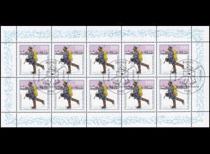 1764 Tag der Marke: Postzusteller im Spreewald - 10er-Bogen, ESSt Bonn