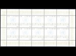 1804 UNO - 10er-Bogen **