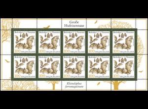 2086 Tiere: Fledermaus Große Hufeisennase - 10er-Bogen **