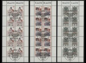 2139-2141 Sehenswürdigkeiten - 10er-Bogen ESSt Bonn