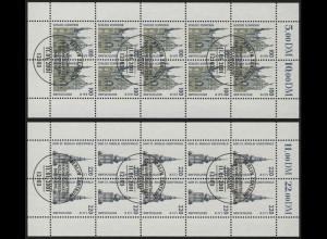 2156-2157 SWK Schwerin & Greifswald - 10er-Bogen-Satz ESSt Berlin