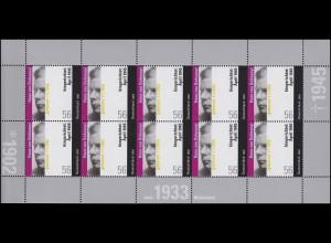 2233 Hans von Dohnanyi - postfrischer 10er-Bogen ** postfrisch