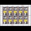 2336 EUROPA Plakatkunst - 10er-Bogen ** postfrisch
