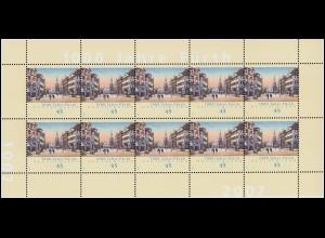 2580 Jubiläum 1000 Jahre Fürth - 10er-Bogen ** postfrisch