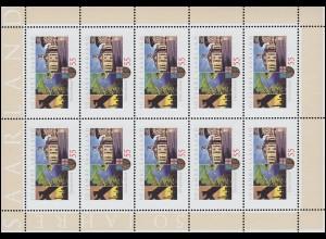 2581 Jubiläum 50 Jahre Bundesland Saarland - 10er-Bogen ** postfrisch