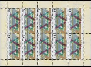 2594 Eröffnung des Jüdischen Zentrums München - 10er-Bogen ** postfrisch