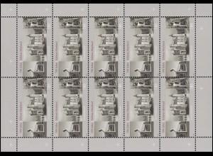 2602 Schloss Moyland - 10er-Bogen ** postfrisch