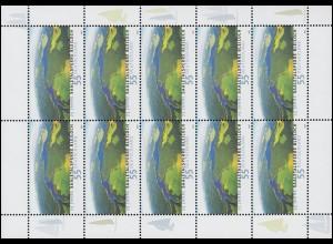 2617 Saaletalsperre Bleiloch - 10er-Bogen ** postfrisch