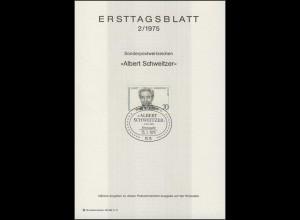ETB 02/1975 Albert Schweitzer
