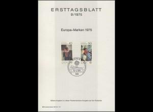 ETB 09/1975 Europa: Gemälde