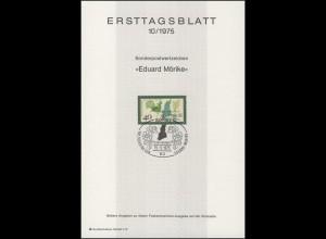 ETB 10/1975 Eduard Mörike