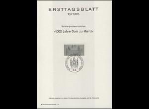 ETB 13/1975 Mainzer Dom