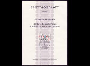 ETB 09/1980 korrekte Schreibweise in Stempelmitte dv
