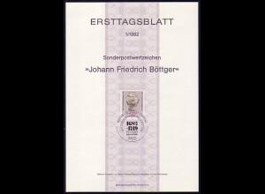 Ersttagsblätter ETB Bund Jahrgang 1982 Nr. 1 - 26 komplett