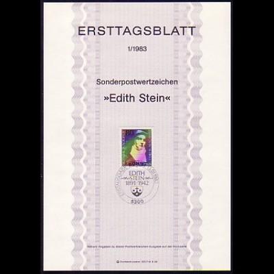 Ersttagsblätter ETB Bund Jahrgang 1983 Nr. 1 - 25 komplett