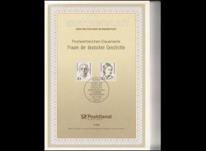 Ersttagsblätter ETB Bund Jahrgang 1991, Nr. 1 - 48 komplett
