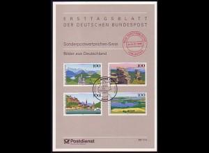 ETB-Vorläufer V 23/1994 Bilder aus Deutschland Alpen, Erzgebirge, Maintal ...