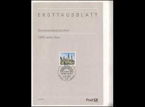Ersttagsblätter ETB Bund Jahrgang 1995 Nr. 1 - 41 komplett