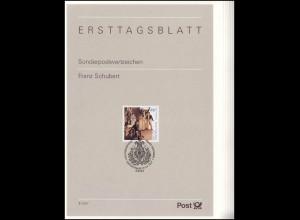 Ersttagsblätter ETB Bund Jahrgang 1997 Nr. 1 - 46 komplett