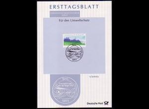 Ersttagsblätter ETB Bund Jahrgang 2002 Nr. 1 - 49 komplett