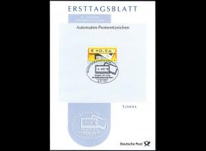 ETB S/2002 Automatenmarke Briefkasten 4.4.2002