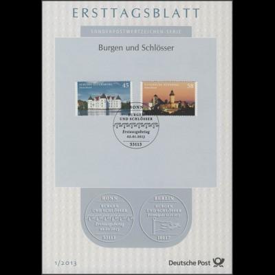 Ersttagsblätter ETB Bund Jahrgang 2013 Nr. 1 - 42 komplett