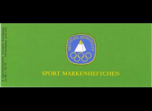 Sport 1980 Dressurreiten 60 Pf, 6x1047, mit Bogenrandziffern, **