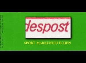 Sport 1980 Dressurreiten 60 Pf, 6x1047, mit PLF I kurzes p, **