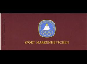 Sport 1981 Rudern - Doppelvierer 60 Pf, 6x1094, ESSt Bonn