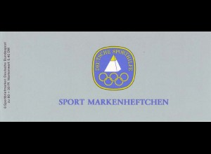 Sport 1982 Dauerlauf 60 Pf, 6x1127, gestempelt
