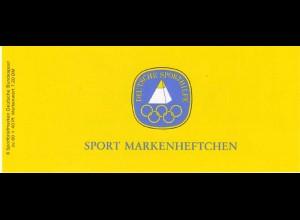 Sport 1983 Turnfest 80 Pf, 6x1172, mit Bogenrandziffern, **