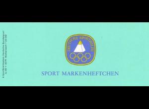 Sport 1984 Sportgymnastik 80 Pf, 6x1207, ESSt Bonn