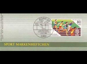 Sport 1986 Kurzstreckenlauf 80 Pf, 6x1269, ESSt Bonn