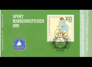 Sport 1991 Radfahren 100 Pf, 6x1500, ESSt Bonn