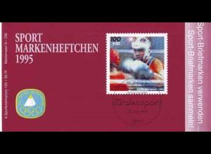 Sport 1995 Boxen & Box-WM der Amateure 100 Pf, 6x1779, postfrisch