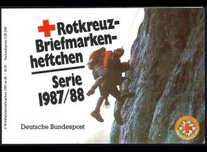 DRK/Wofa 1987/88 Gold & Silber - Bursenreliquiar 80 Pf, 6x1336, postfrisch