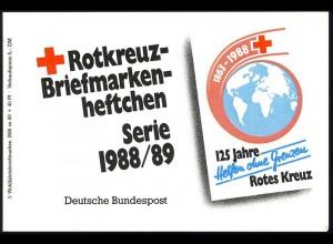 DRK/Wofa 1988/89 Gold & Silber - Blütenstrauß 80 Pf, 5x1386, postfrisch