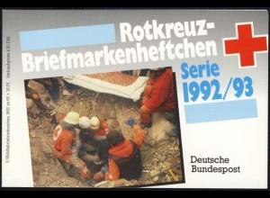DRK/Wofa 1992/93 Türmeruhr 60 Pf, 5x1631, postfrisch