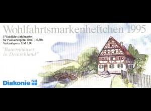 Diakonie/Wofa 1995 Sachsen 80 Pf., 5x1820, postfrisch